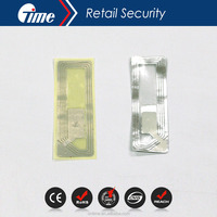 ONTIME RL4649 High quality EAS 8.2MHz Security Soft lipstick RF Paper Labl stickers Tag in eas system for products