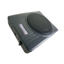 hot selling high quality 10 inch active slim under seat car subwoofer small size