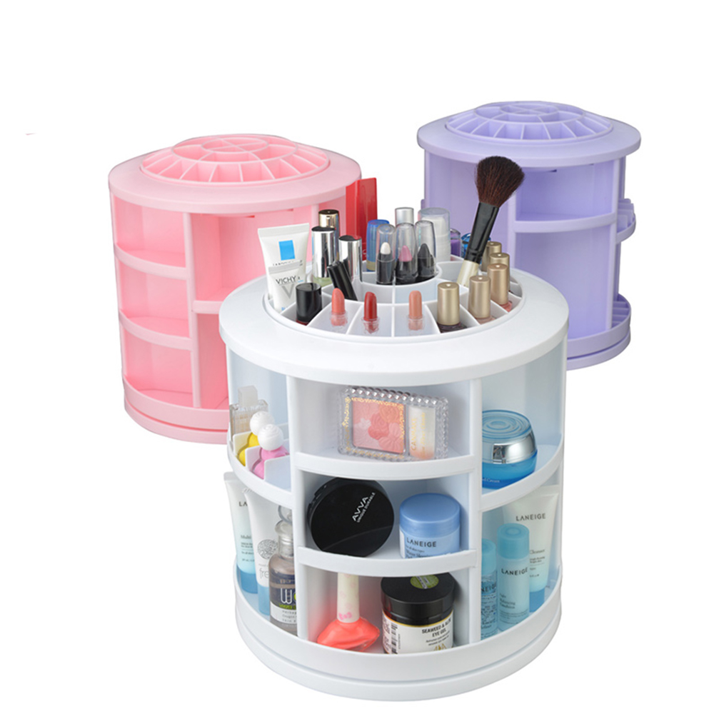 Makeup organizer countertop