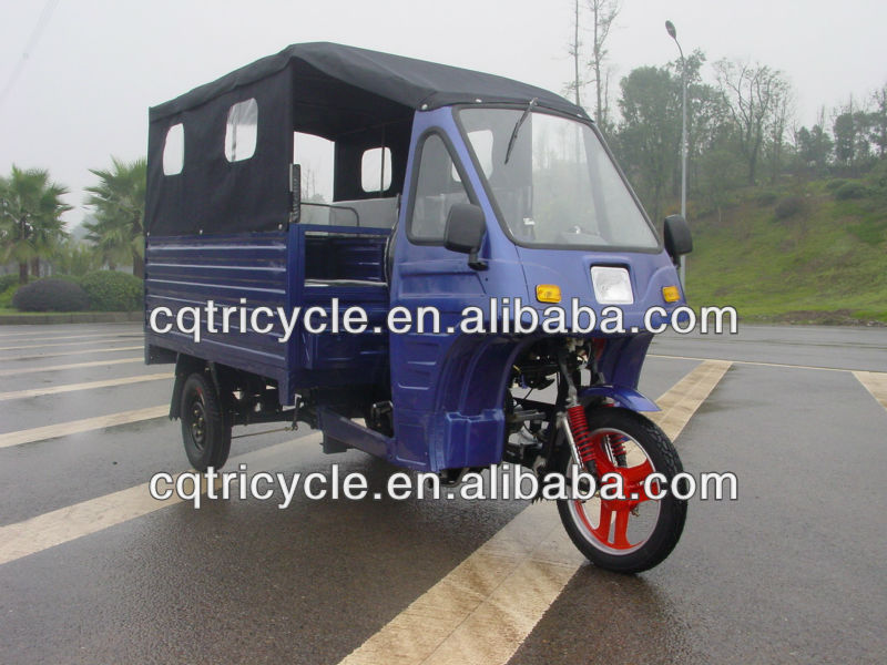 Motorzied Adult Tricycles with Two Row Back Seats for Passengers