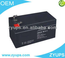 Small Capacity Battery 12v 1.3AH Lead Acid Battery For UPS/Solar