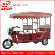 New Philippines Design Cheap Passengers Adult Electric Tricycle