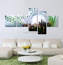 Top quality abstract canvas painting