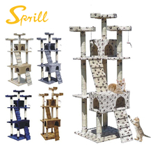 SPRILL Customized cat tree cat scratching tree with sisal