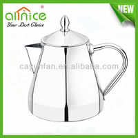 Silver hot water boiler/stainless steel water jug/tea pot and kettle set