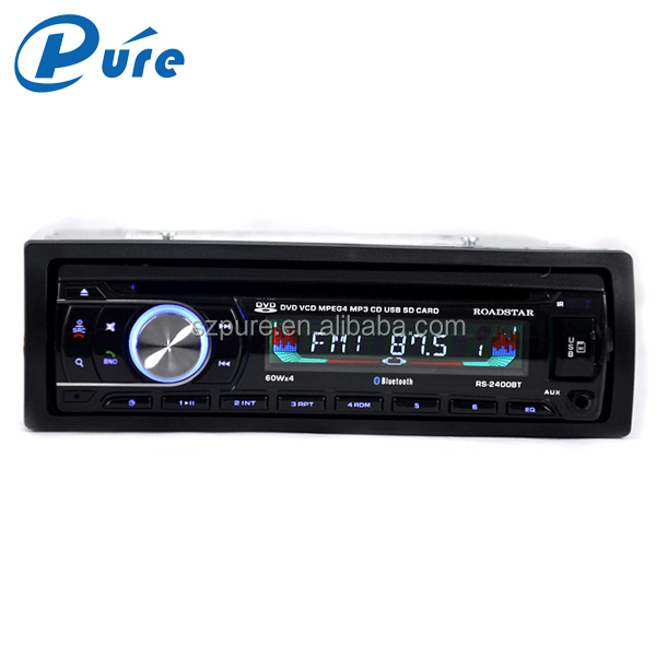 Factory supply cheap car stereo /one din car dvd player/mp3 fm usb sd mmc card player