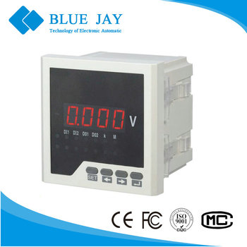 96*96 single phase BE-96 AV automotive digital voltmeter