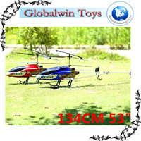 "Extra Large Outdoor Fun! 134CM 53"" QS8006 Speed 3.5CH RC Helicopter large scale rc helicopters sale"