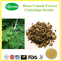 Black Cohosh Extract /2.5%-5%triterpene glycosides Black Cohosh Extract powder