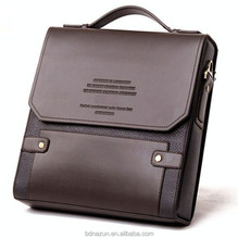 Popular High Quality Fashion Custom Hard Leather Briefcase for Lawyer briefcase
