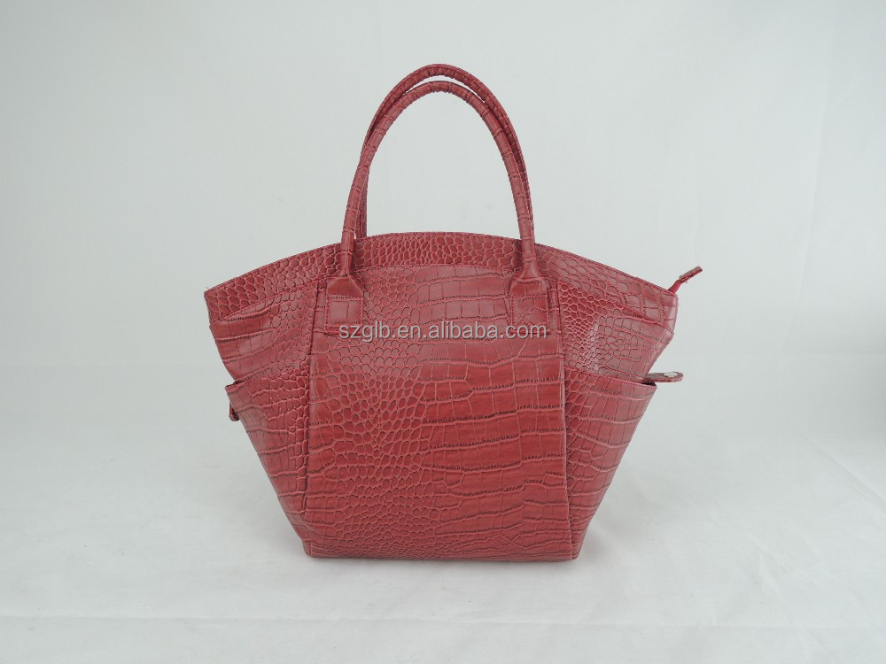 Elegant and graceful newly designed east west ladies tote bag