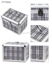 professional aluminum cosmetic case with mirror beauty makeup case ,cosmetic chest,beauty makeup case