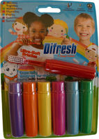 Toothbrush for Kids - 7 days colour