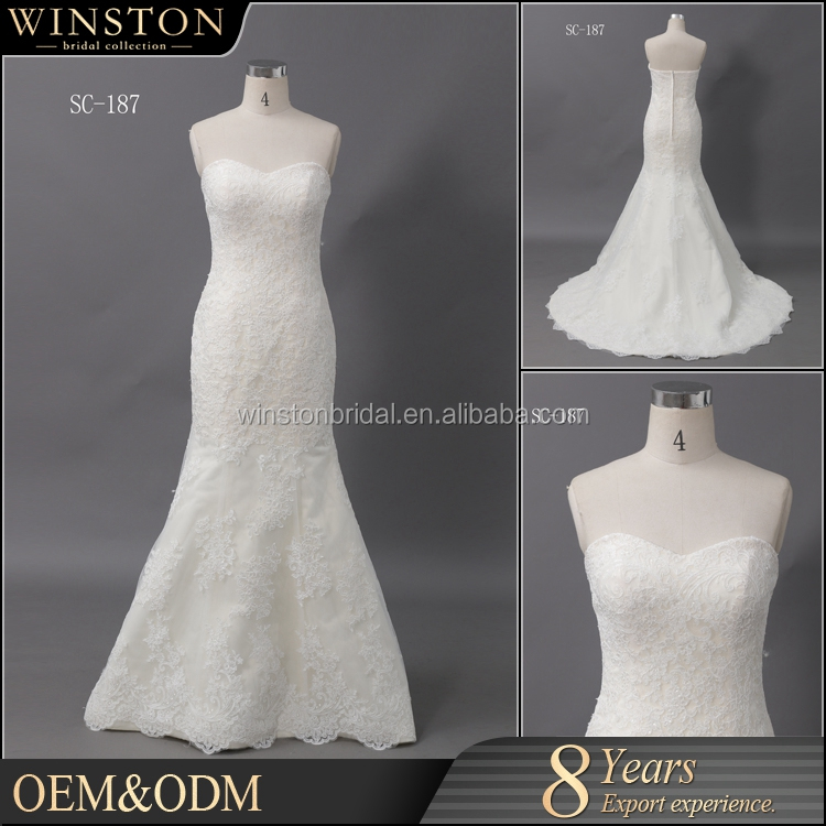 Top Quality With Wholesale Price bohemian lace wedding dress