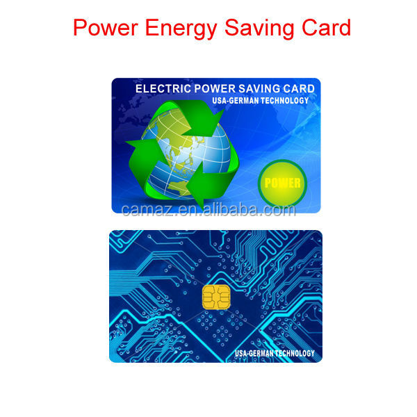 2017 Best selling products high energy negaitve ions electricity power saver card. OEM