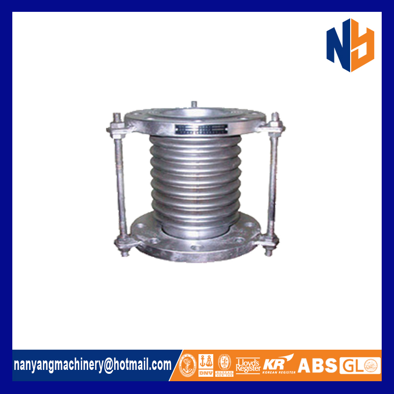 Stainless steel flange concrete metal expansion joint bellows