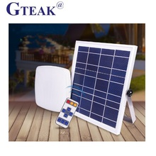 Brightness adjustable outdoor motion sensor solar led wall light
