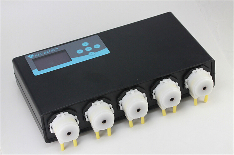 Aquarium 5 heads automatic dosing pump