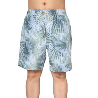 100% microfiber twill polyester men blank crossfit beach & swim shorts with pockets