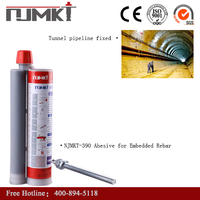 NJMKT-390 an epoxy resin system in a side by side cartridge modified epoxy based resin for anchoring of Wall ties