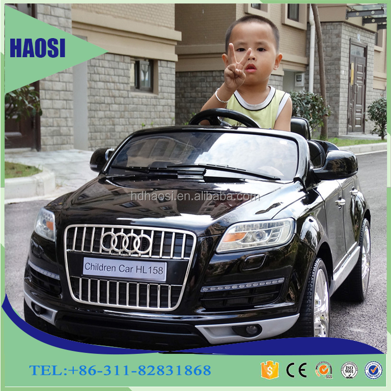audi q7 suv baby ride on toy car licensed two seat children toy jeep for sale