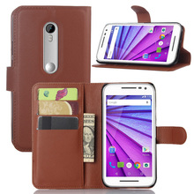 TPU+leather case for Moto X play protector;single color kickstand case for Motorola X play leather case