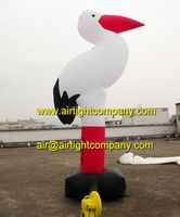 new product nice designed inflatable swan ground balloons custom made inflatable goose model
