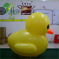 Attractive Yellow Giant Inflatable Duck , Buoy Inflatable Duck For Promotion