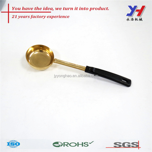 Long handle stainless steel Soup ladle for restaurant catering, Cooking tools customized made