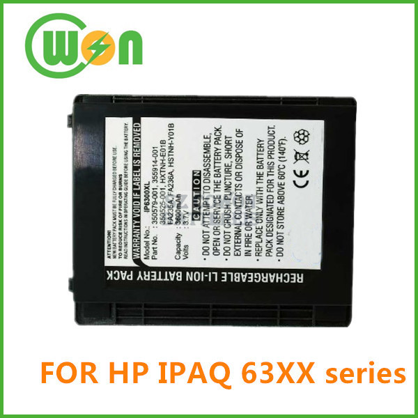 Replacement Battery for HP IPAq h6300 h6310 h6315 h6320 h6325 h6340 h6345 h6365 350525-001 PDA Battery