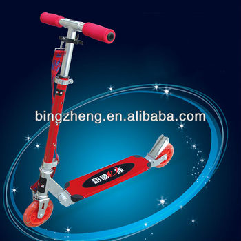 2014 new BINGZHENG ZHENKU full aluminum kid scooter for sale (CE approved)