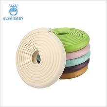 Child safety corner guard protective and stripe baby edge protector widely used for furniture