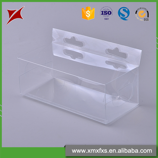 Explosion models pvc recyclable plastic transparent folded edges blister