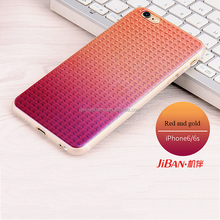 Promote sales super light Ombre color and Colorful shiny high qulity soft silicone individuation phone case for iphone7 7plus