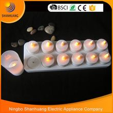 Newest design hot sale cheap flameless moving wick led candle