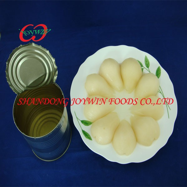 Canned food distributors, canned pear halves in light syrup