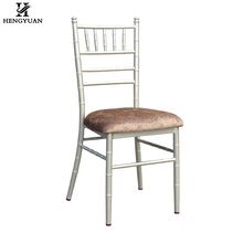 Modern stacking hotel restaurant event rental wholesale metal wedding chiavari chair for sale