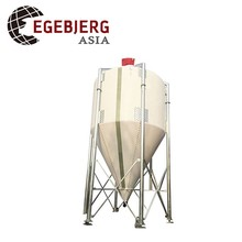 Firberglass Feed Silos For Pig and Chicken Feeding System