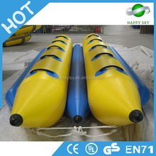 Cheapest exciting toys flying towables of inflatable flying manta ray fish banana boat for sale