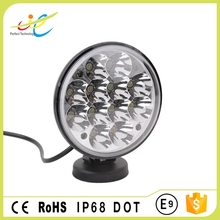 36W 5inch led work light with high low beam pattern Round led head lamp for offroad tractor truck vehicles