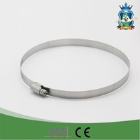 Multi Functional Silver Round Hose Clamps