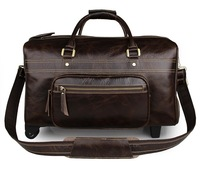 7317C Travel Bag Vision, Jmd Genuine Leather Square Travel Bag
