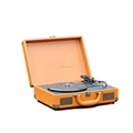 3-speed electronic suitcase phonographe turntable player headphone Jack home use with bluetooth