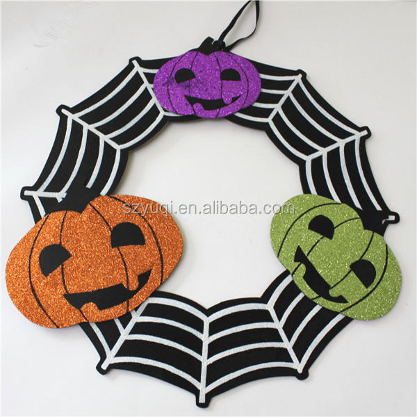 Halloween hanging wooden decorative crafts