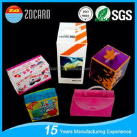 2015 ZDcard group tall round tea tin/box professional leading manufacture in china