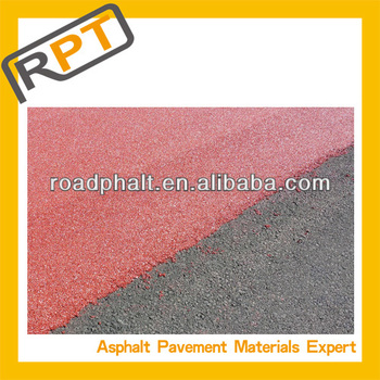 Roadphalt colored cold modified bitumen mixture