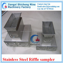 sealed type stainless steel riffle sampler for laboratory, lab equipment for sample preparation