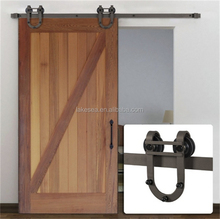 Modern Interior Track Barn sliding door tracks and rollers
