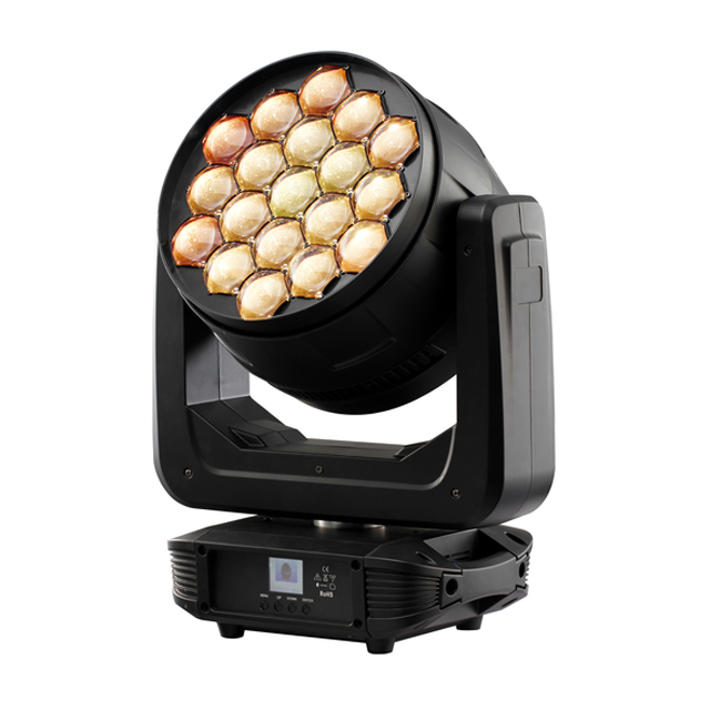 19x30W 4 IN 1 2017 NEW ZOOM LED Moving Head Wash