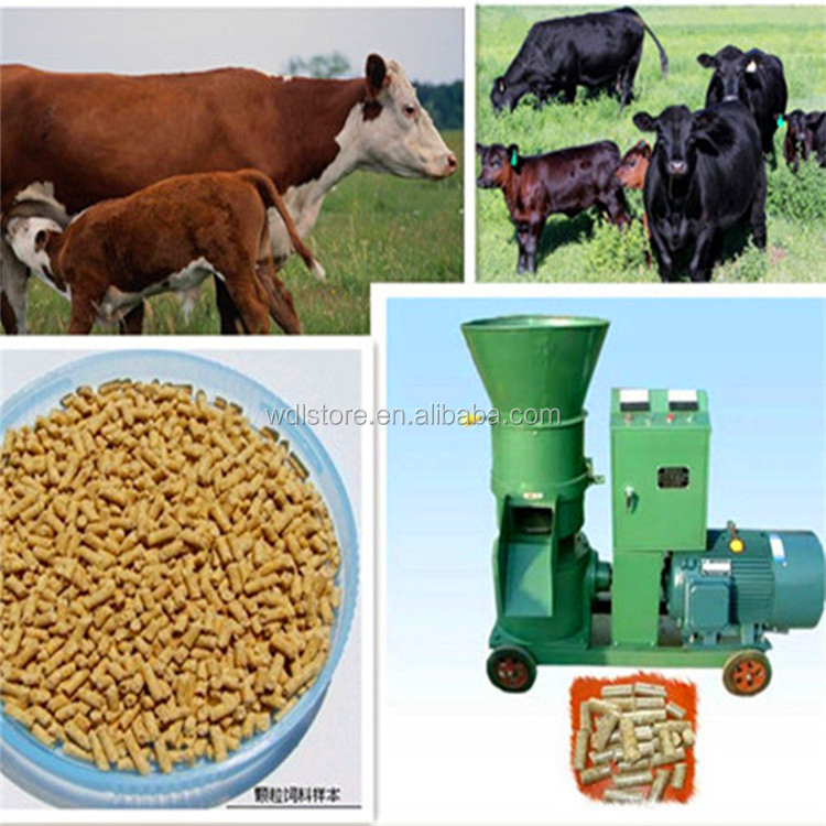 China Factory Pellet Animal Feed Processing Machinery